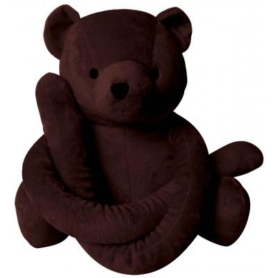 Eurobear velours chocolat
