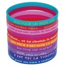 Bracelets silicone Bon pour