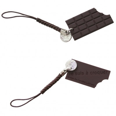 Bijoux portable chocolat