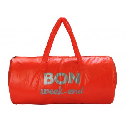 Sac bon week end orange