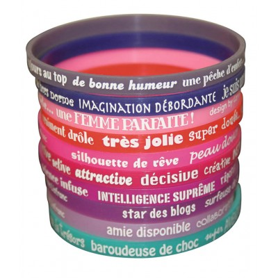 10 bracelets Femme