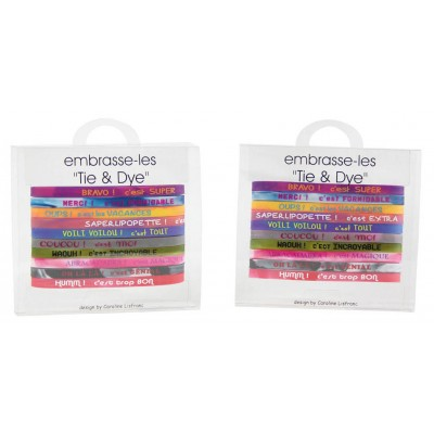 Bracelets Tie and Dye