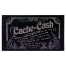 Pochette Cache Cash prune